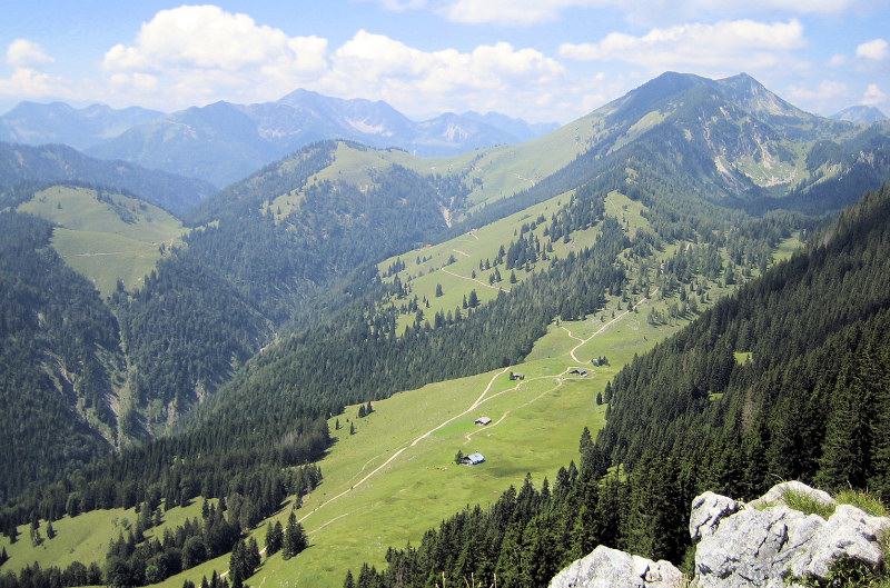 Blick ins Gießenbachtal