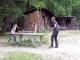 Tischtennis auf der Hütte